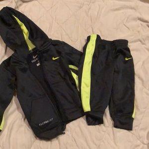 Little boys sweat suit